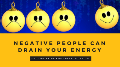 negative people can drain your energy